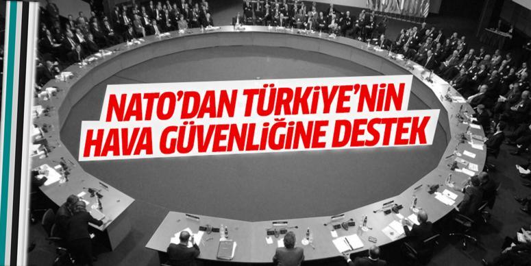 NATO'dan Türkiye'nin hava güvenliğine destek