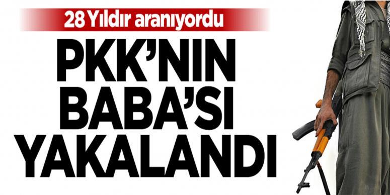 PKK'lı yönetici 28 yıl sonra yakalandı!