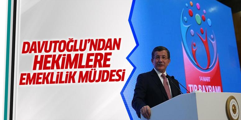 Davutoğlu'ndan Tıp Bayramı'ndan önemli açıklamalar