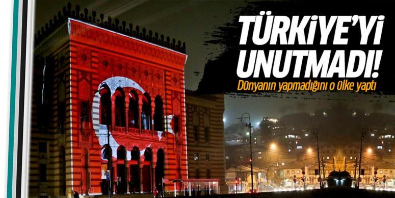 Türkiye'yi unutmadılar