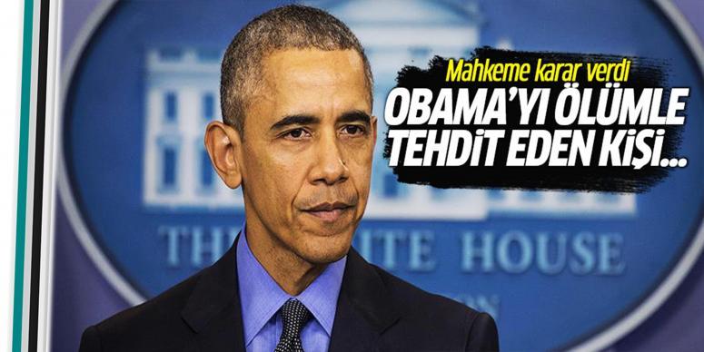 Obama'yı ölümle tehdit eden kişi...