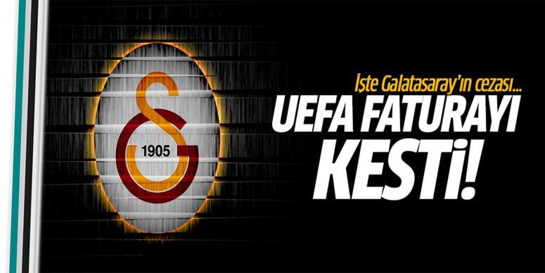 Ceza belli oldu! İşte UEFA'nın Galatasaray kararı...
