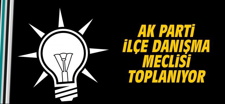 AK Parti ilçe danışma meclisi toplanıyor