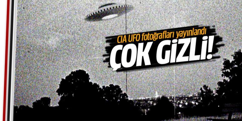 CIA, UFO fotoğrafları yayınlandı