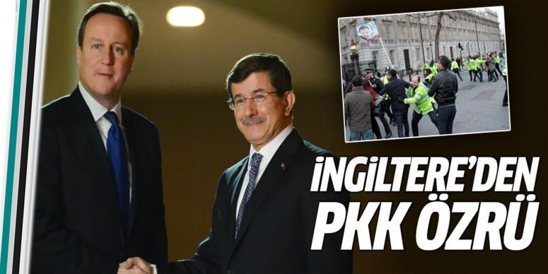 İngiltere'den PKK özrü