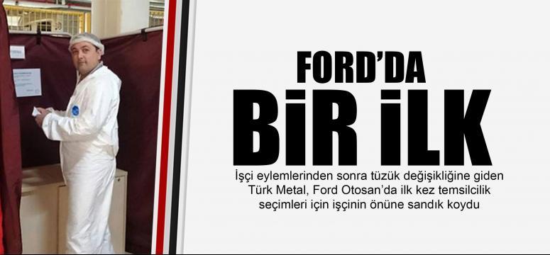 Ford'da bir ilk