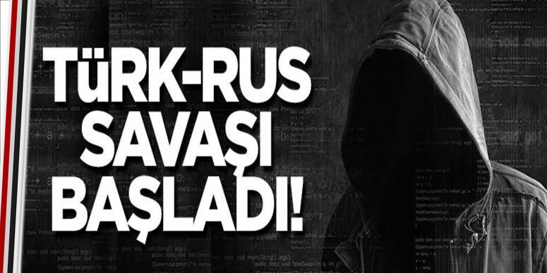 Türk-Rus savaşı başladı