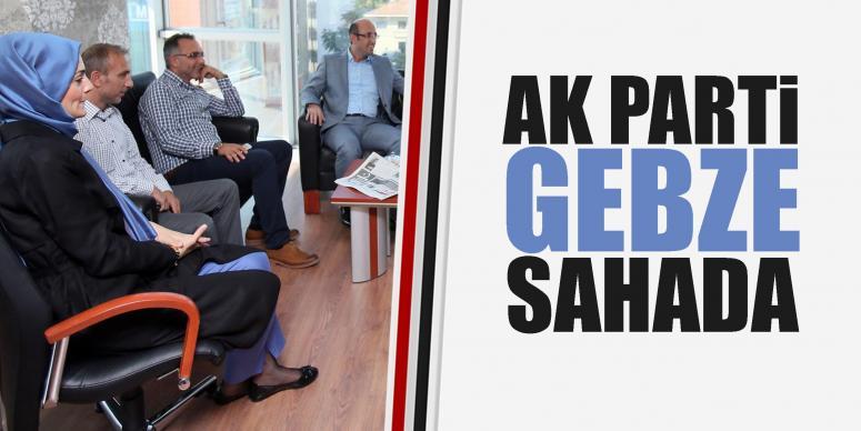 AK Parti Gebze'de Karaosmanoğlu eşlik etti