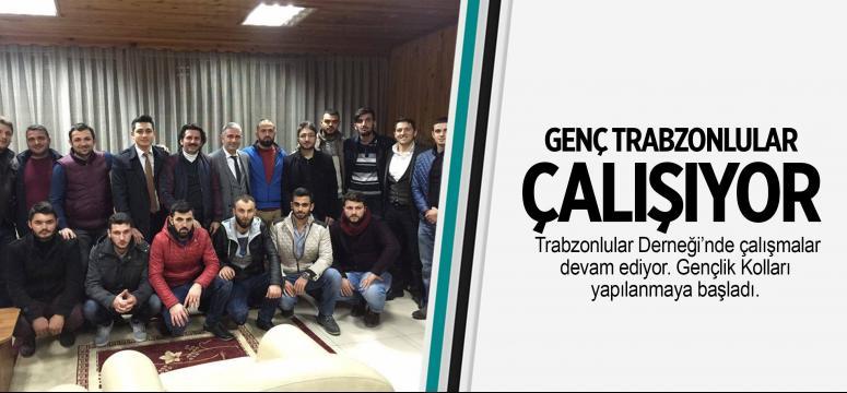 Genç Trabzonlular çalışıyor
