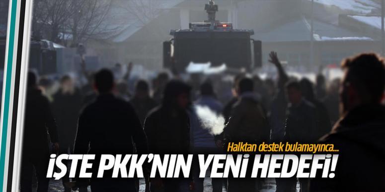 PKK'nın yeni hedefi