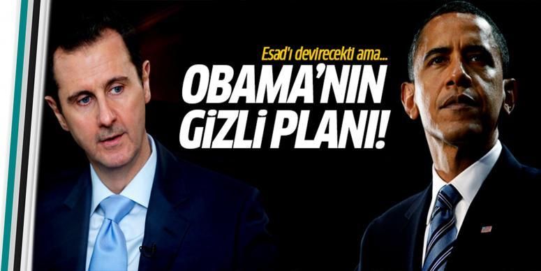 Obama'nın gizli planı