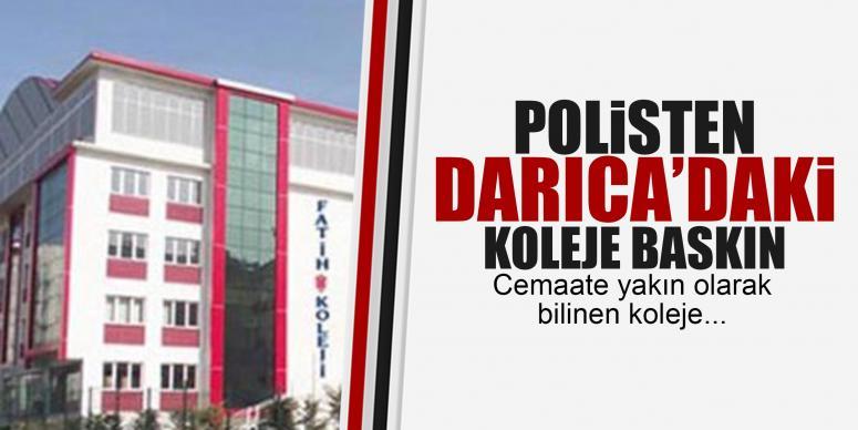 Polis fatih kolejine baskın yaptı!