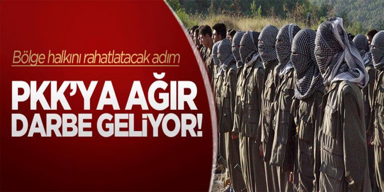 PKK'ya büyük darbe geliyor!