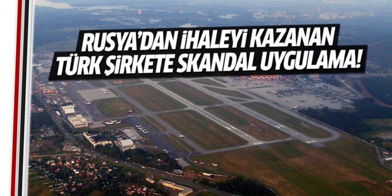 Türk şirkete skandal uygulama!