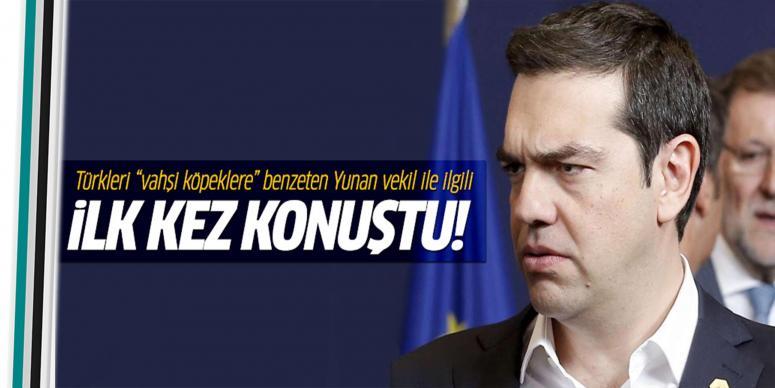 Türklere hakaret eden parlementerle iligli açıklama