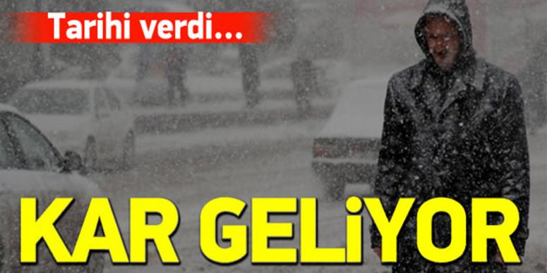 Sıcaklıklar 6 derece düşüyor, kar geliyor!