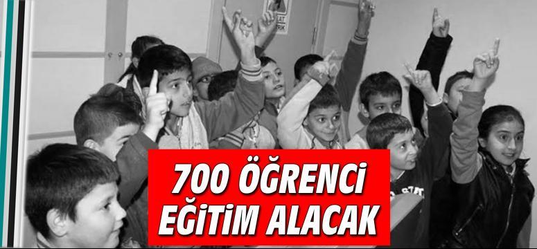 700 öğrenci eğitim alacak