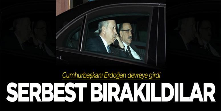Erdoğan devreye girdi