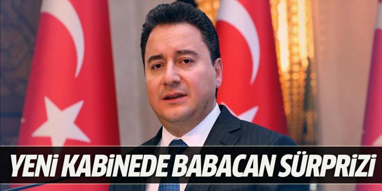 Yeni kabinede Babacan sürprizi