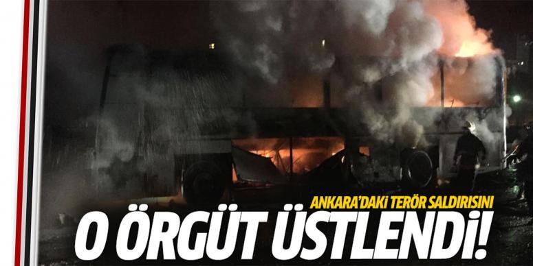 Ankara'daki saldırısıyı 'O' örgüt üstlendi