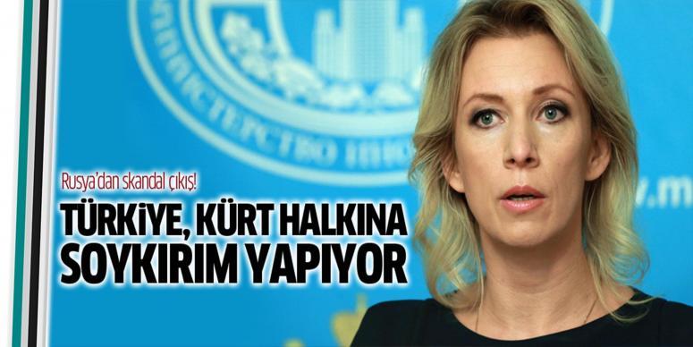 Türkiye Kürt halkına soykırım yapıyor
