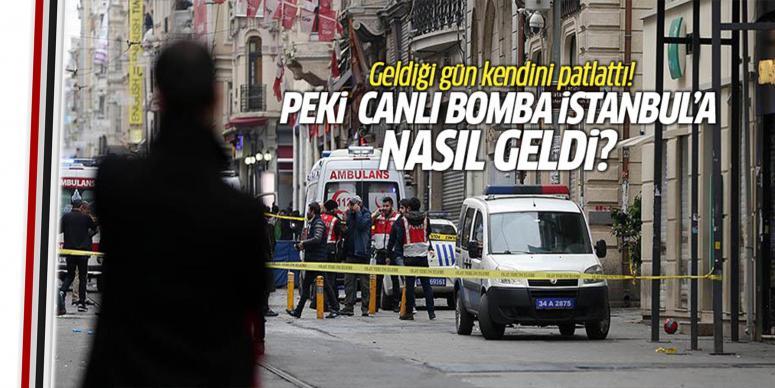 İstanbul'a geldiği gün bombayı patlattı