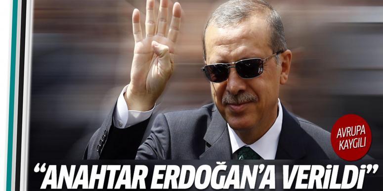 Anahtarı Erdoğan'a verildi'