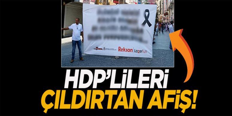 HDP'den o afişe suç duyurusu