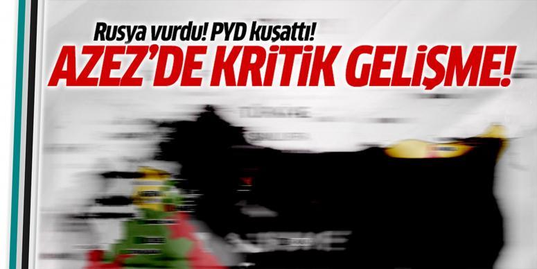 PYD'nin kontrolüne geçti