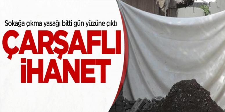Diyarbakır'daki tahribat ortaya çıktı