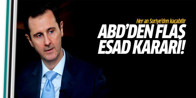 ABD'de Esad için savaş suçları mahkemesi kararı