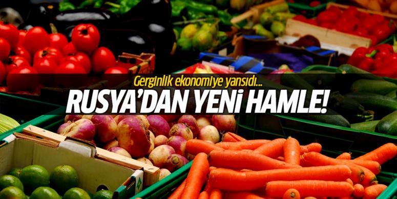 Rusya'dan Türk ürünlerine yeni hamle
