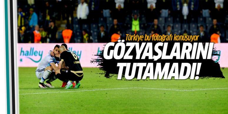 Mehmet Topal gözyaşlarını tutamadı