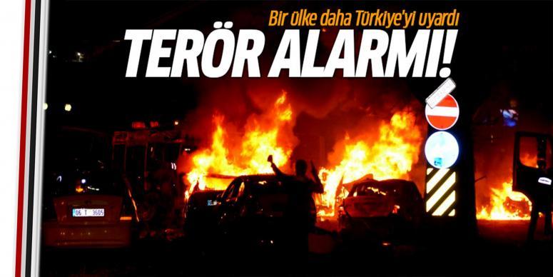 Ankara için terör uyarısı!