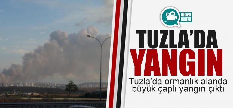 Tuzla'da yangın!