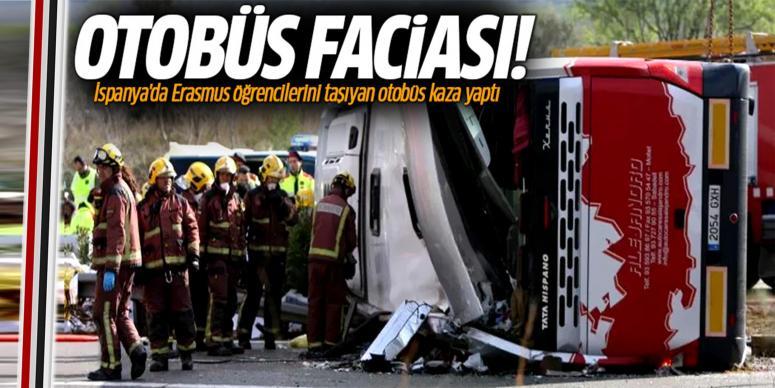 Otobüs kaza yaptı: 14 ölü