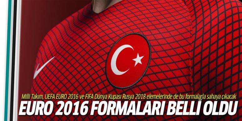 İşte Türk Milli Takımının yeni formalar!