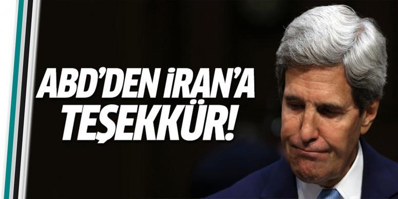 ABD, İran'a teşekkür etti