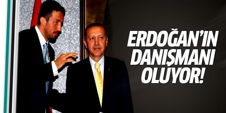 Erdoğan'ın danışmanı oluyor
