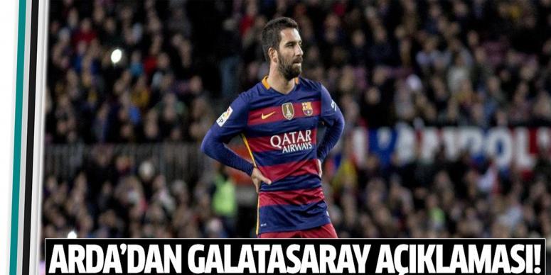 Turan,'dan Galatasaray açıklaması