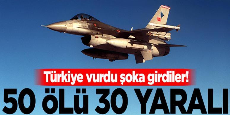 Türk jetleri DAEŞ'e bomba yağdırdı