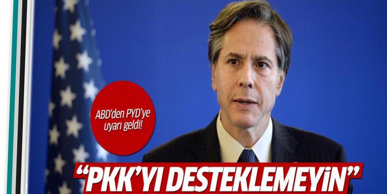 PKK'yı desteklemeyin