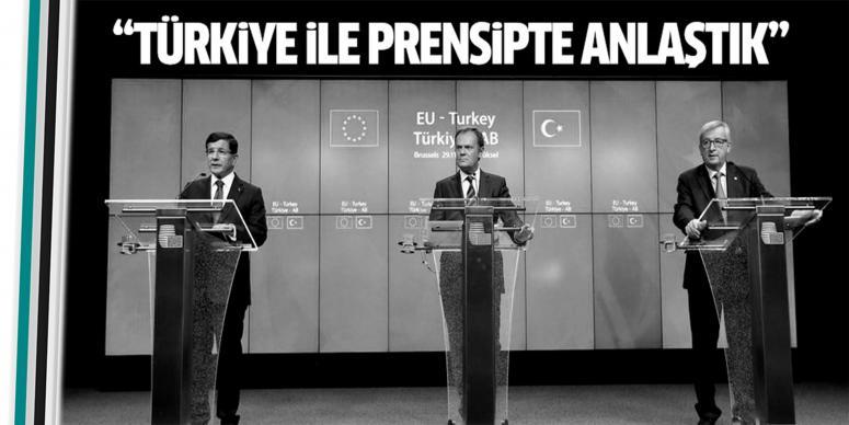 Türkiye ile prensipte anlaştık