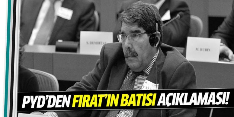 PYD'den 'Fırat'ın batısı' açıklaması