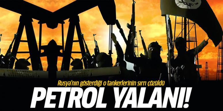 Rusya'nın petrol yalanı ortaya çıktı