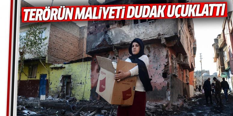 Terörün Türkiye'ye maliyeti dudak uçuklattı