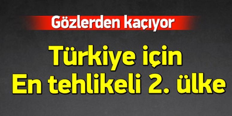 Türkiye için en tehlikeli 2. ülke
