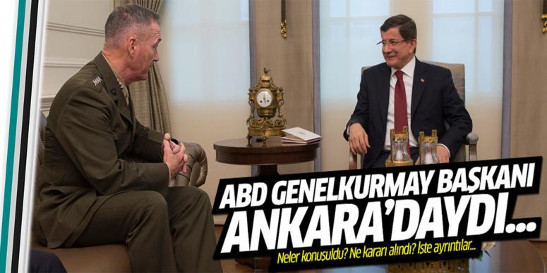 Ankara ziyaretinin ayrıntıları...