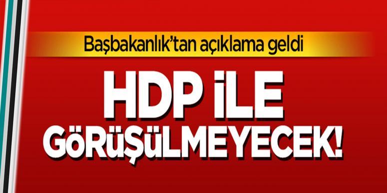 HDP ile masayı paylaşmanın anlamı kalmadı
