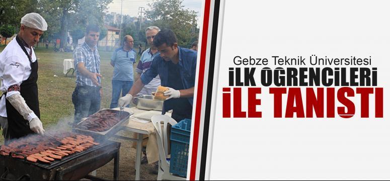 Gebze Teknik Üniversitesi öğrencileri ile tanıştı